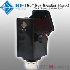 RFI Folding Bull Bar Antenna Bracket Mount Black f CDQ7195 CD7195 CDQ2195 CD2195