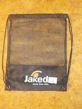 Sac de natation, sac de plage, filet de natation, JAKED, Noir (32 cm x 42 mm)