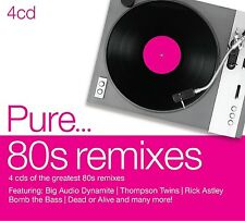 PURE...80S REMIXES 4 CD NEUF