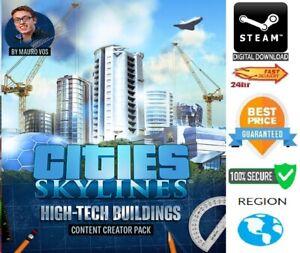 Cities: Skylines Content Creator Pack: High-Tech Buildings DLC PC/Mac Steam