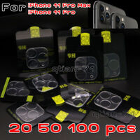 For iPhone 11 Pro/11 Pro Max 3D Rear Camera Lens Cover Screen Protector - Lot
