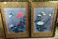 """PAIR CHIU WENG Watercolor COA Limited Edition 79 & 80/950 Signed 23.5X16.5"""""""