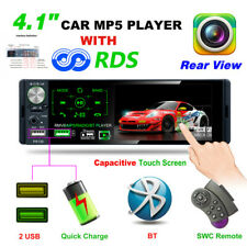 "4.1"" HD MP5 Subwoofer Player Touch Capacitive Screen Dual USB Car Audio Player"