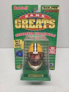 BRETT FAVRE,  Riddell Game Greats Figure, Green Bay Packers, 1998, NEW.