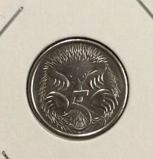 2017 5 cent  UNC  coin
