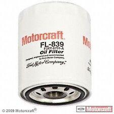 Motorcraft FL839 Oil Filter