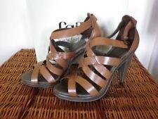 "Faith Casual Very High Heel (greater than 4.5"") Women's Sandals & Beach Shoes"