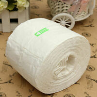 500pc/Roll Pure Cotton Nail Art Wipes Manicure Polish Remover Cleaner Pap B3C6