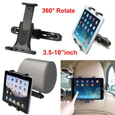 Universal Car Back Seat Headrest Mount Holder For Phone&iPad Mini/4/5 3.5-10inch