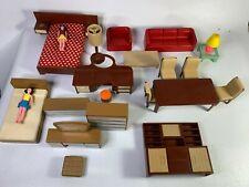 Dolls House Furniture Vintage MCM Mixed Lot