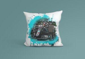 Scottish Cushion F1 Lewis Hamilton Cotton Cover Pillow Case Race Suit Gift