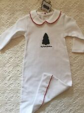 Mud Pie My First Christmas Gown 0-3 Month unisex