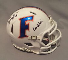 Marcus Maye SIGNED Florida Gators Football Mini Helmet AUTO COA New York Jets