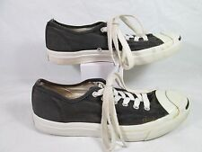 Converse Jack Purcell CP OX Canvas Low Cut Sneakers Black Sz 6.5-M