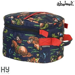 Hy Equestrian Thelwell Collection Hat Bag – Handy for Competition Days – Storage