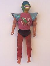 """Rare Vintage 1980s The Magnificent DINO WARRIORS 8"""" Action Figure PACO Mego-Like"""