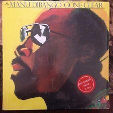 MANU DIBANGO -GONE CLEAR- 1980 MEXICAN LP REGGAE