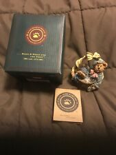 Boyds Bears and Friends Resin Rembrandt Eggsellent Work 227790