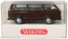 Furgoneta VW t3 modelo-Wiking 1:87 h0-Caravelle-Braun-nuevo