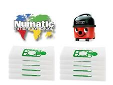 Vacuum Cleaner Hoover Bags For Numatic Henry x 10 Non Genuine