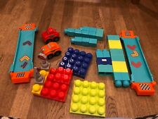 children building blocks and Cars