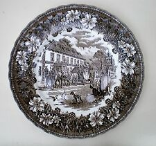 "Vintage Royal Tudor Ware Dinner Plate 10.75"" Brown (27.5cm) Diameter"