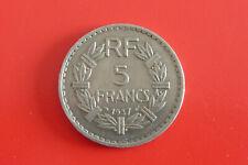 France 5 Francs Bazor 1937