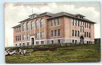 *Southside High School Building Bellingham Washington WA Vintage Postcard B95