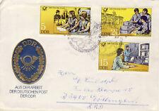 Ersttagsbrief DDR MiNr. 2583, 2585, 2586, Bildungseinrichtungen der Deutschen (2
