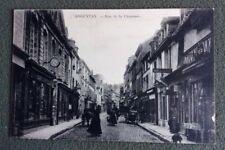CPA. ARGENTAN. 61 - Rue de la Chaussée. 1916. Lunettes. Pendule. Tabac