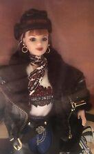Harley Davidson Barbie # 2 doll NRFB Redhead
