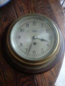 VINTAGE BARKERS KENSINGTON SHIPS CLOCK #1799