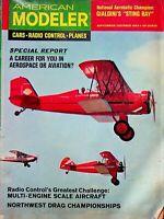 Vintage American Modeler Magazine Sept/Oct 1964 Multi-Engine Scale Plane m1005