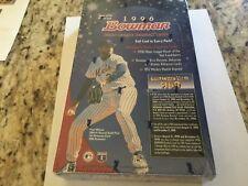 1996 Bowman Baseball - factory sealed box - lots of subsets