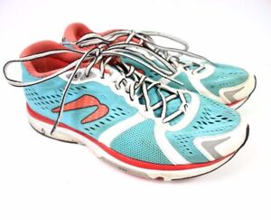 Newton Gravity Running Athletic Shoes Women's US 9.5 Blue Red Lace Up W000215B