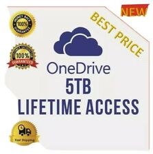 Onedrive storage 5tb Custom Name You an Choose Your Own Username