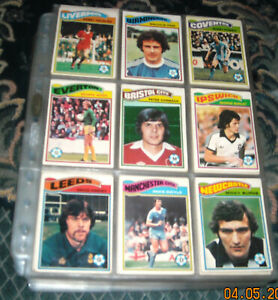 TOPPS 1978 COMPLETE SET-396/396 CARDS-EXCELLENT CONDITION