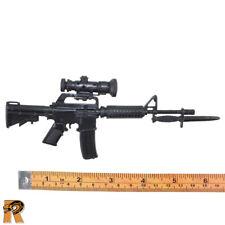 Basic Training V2 - M4 Machine Gun - 1/6 Scale - GI JOE Action Figures