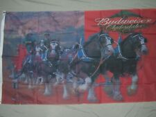 BUDWEISER BEER CLYDESDALE FLAG NEW 3X5FT banner sign better quality usa seller