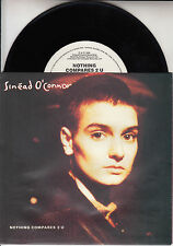 SINEAD O'CONNOR  Nothing Compares 2 U PICTURE SLEEVE 45 record + juke box strip