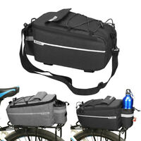 Cycling Bicycle Bike Rear Seat Rack Storage Trunk Bag Handbag Pannier Suitcase