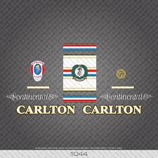 01044 Carlton Continental Bicicleta Pegatina - Calcomanía
