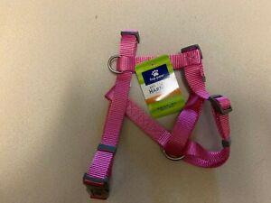 Top Paw Dog Adjustable Harness Pink Medium New