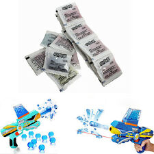 3000Pcs Water Bullets Balls Gun Pistol Toy Water Gun Crystal Soft Bullet Fun KY