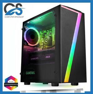 Gaming PC Computer AMD5 5600G 2TB HDD 960GB SSD 32GB RAM 6GB GTX 1660 WINDOWS 11
