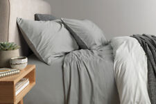 Sheridan Nashe King Bed sheet Set in Fog RRP $319.95