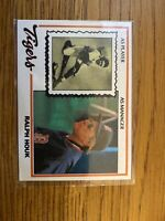 Ralph Houk 1978 Topps Tigers Team Regional Burger King #1