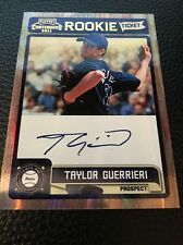 Taylor Guerrieri Rays  2011 Playoff Contenders Rookie Ticket Auto #RT42