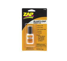 ROBART ZAP PLASTI-ZAP BRUSH-ON ADHESIVE GLUE (1/4 OZ BOTTLE)   BN   102