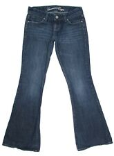 American Eagle Womens Jeans Real Flare Cotton Low Rise Denim Size 2 28x31